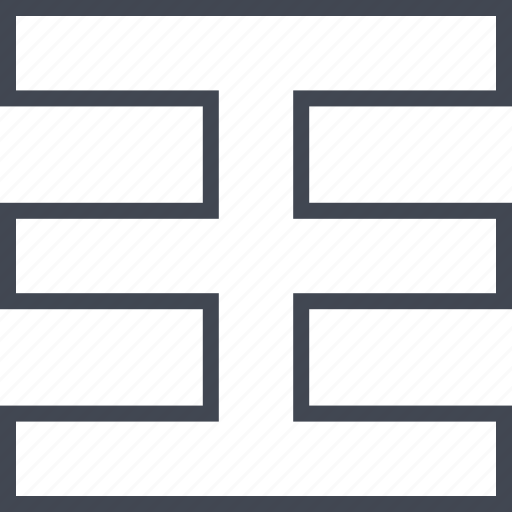 abstract, block, creative, design icon