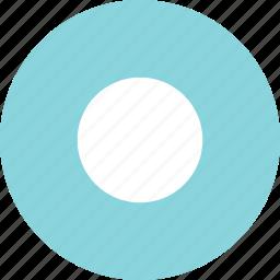 abstract, center, creative, dot icon