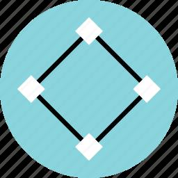 abstract, creative, cube, design, pen, rotate icon