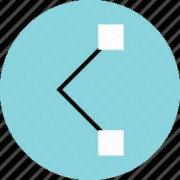 abstract, creative, design, pen, tool icon