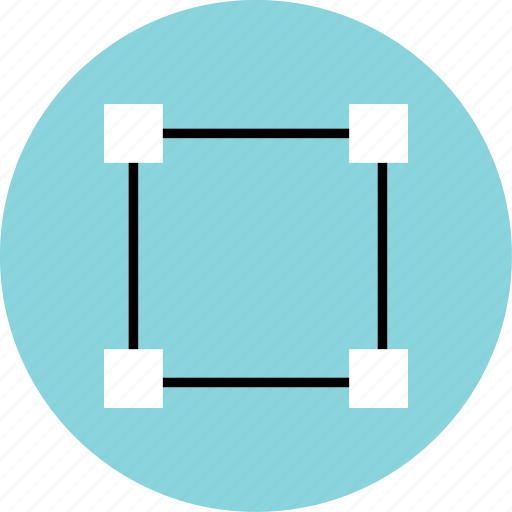 abstract, creative, edit, pen, square icon