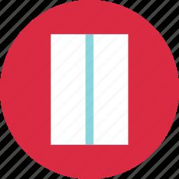 abstract, center, creative, line, rectangle icon