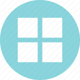 abstract, creative, four, squares, windows icon