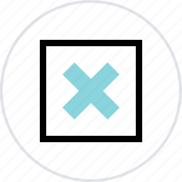 abstract, center, creative, cross, x icon