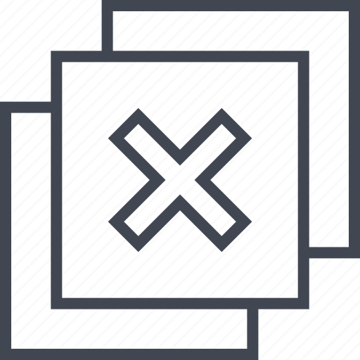 abstract, design, duplicate, x icon