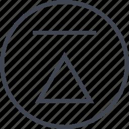 arrow, pointer, up, upload icon
