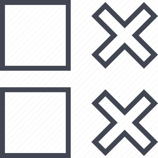 abstract, crosses, design, two, x icon