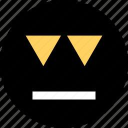 abstract, arrows, creative, down icon
