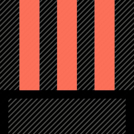 abstract, creative, design, lines, three icon