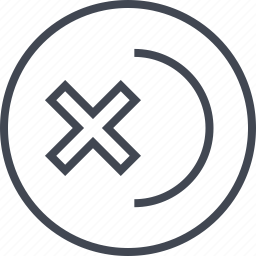 abstract, curve, design, edge, x icon