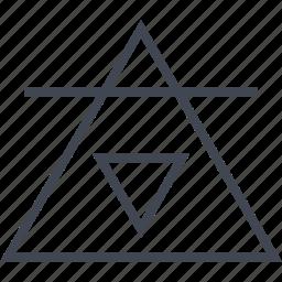 dollar, illuminati, obey, triangle icon