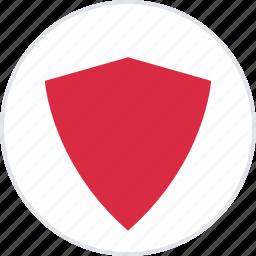 abstract, creative, design, protect, shield icon