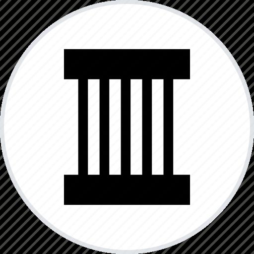 abstract, building, column, creative, peace icon
