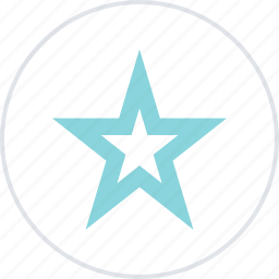 abstract, creative, favorite, special, star icon