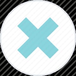 abstract, creative, cross, delete, x icon