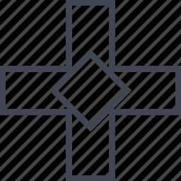add, cross, delete, denied, x icon