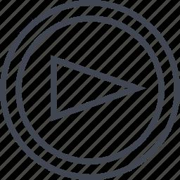 forward, go, point, right icon