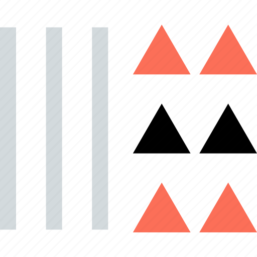abstract, creative, design, line, lines, triangles icon