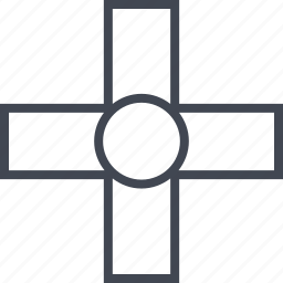 abstract, add, additional, creative, plus icon