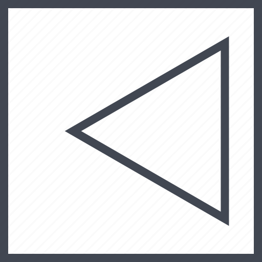 angle, arrow, left, pointer icon