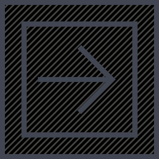 abstract, arrow, creative, go icon