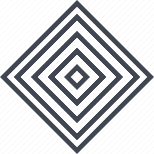abstract, creative, cube, maze icon
