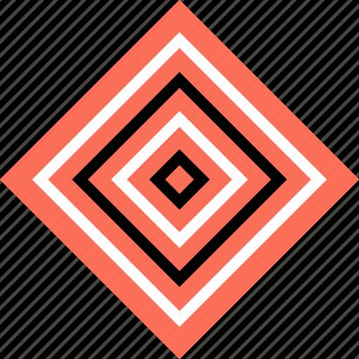 abstract, bulls, creative, cube, eye, target icon