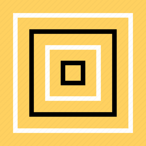 abstract, bulls, creative, eye, target icon
