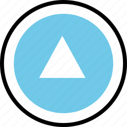 abstract, arrow, creative, point, up icon
