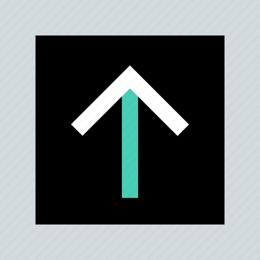 abstract, arrow, creative, up, upload icon