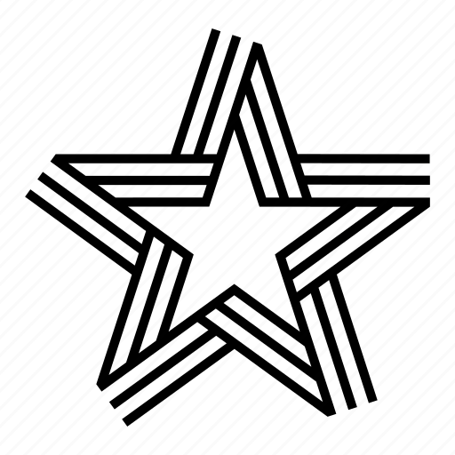 abstract, geometric, geometry, lines, shape, star, symmetry icon