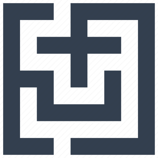 abstract, brain storming, concept, exit, game, hope, labirynth, maze, strategy, symbols, way out icon