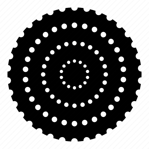 abstract, circle, creative, grar, logo, shape, sign icon