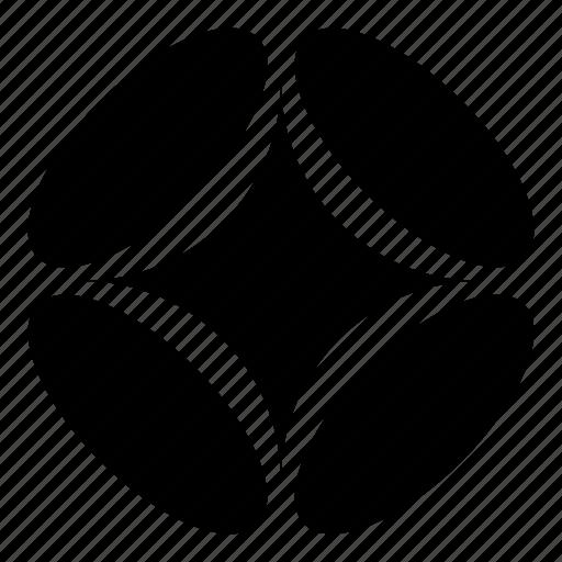 abstract, circle, communication, creative, logo, shape, sign icon