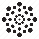 abstract, backlit, circles, dotted, flags, round, zoom icon