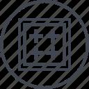 abstract, create, creative, cross, design, designed icon