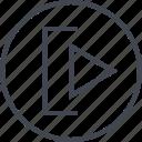 abstract, create, creative, design, designed, go, next icon
