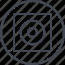 abstract, art, creative, design, eye, shape icon