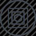 abstract, creative, design, hexagon, puzzle, shape icon
