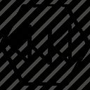 abstract, arrows, creative, design, left icon