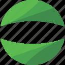 bio, circle, eco, green, leaf, logo, organic