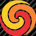 ball, fire, fireball, logo, meteor