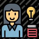 lecture, person, professor, reducator, teacher, tie, user icon