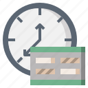 administration, and, calendars, date, organization, schedule, time icon