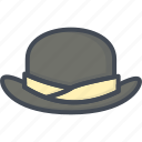accessories, clothes, hat icon