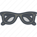 accessories, clothes, fashion, glasses icon