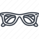 accessories, clothes, glasses icon