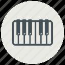 instrument, piano, music, audio, key, keyboard, melody