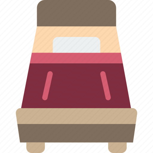 accommodation, bed, hotel, service, service icon, services, single icon