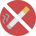 accommodation, hotel, no, service, service icon, services, smoking icon